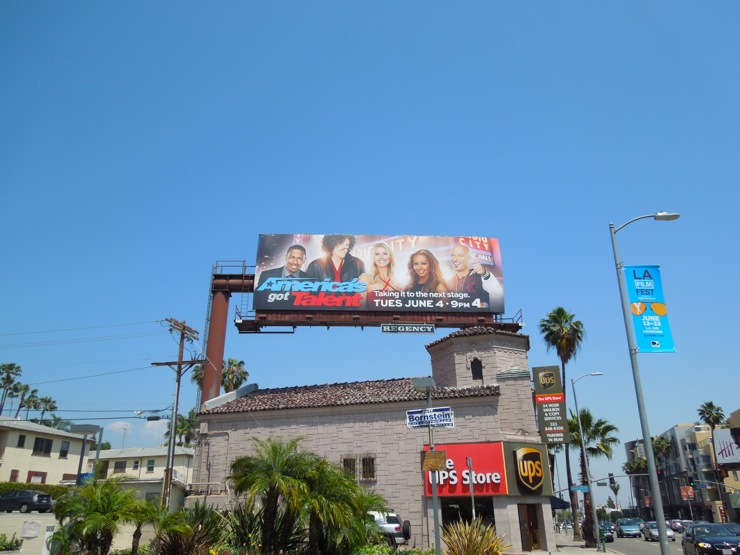 Americas Got Talent 8 billboard