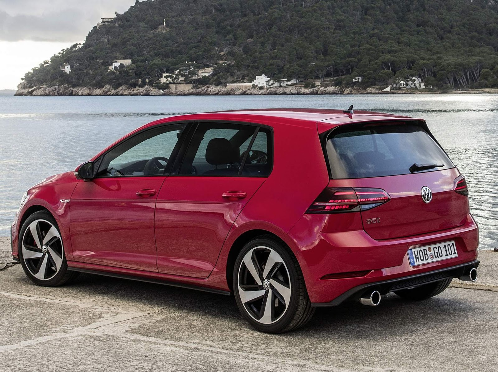 vw golf gti performance 2018 pre o e detalhes europa car blog br. Black Bedroom Furniture Sets. Home Design Ideas