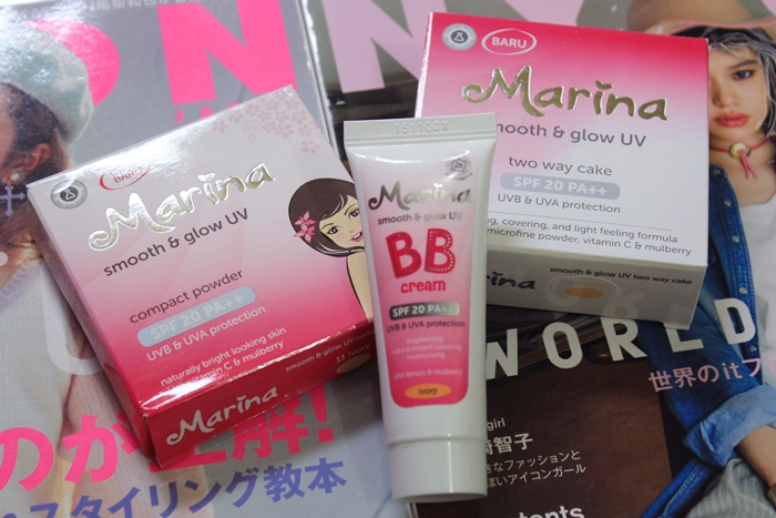 marina smooth and glow uv review | japobsganbare.blogspot.com