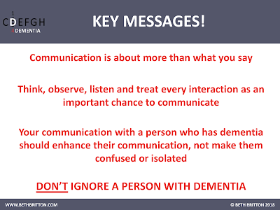 Key Messages for 'Communication'