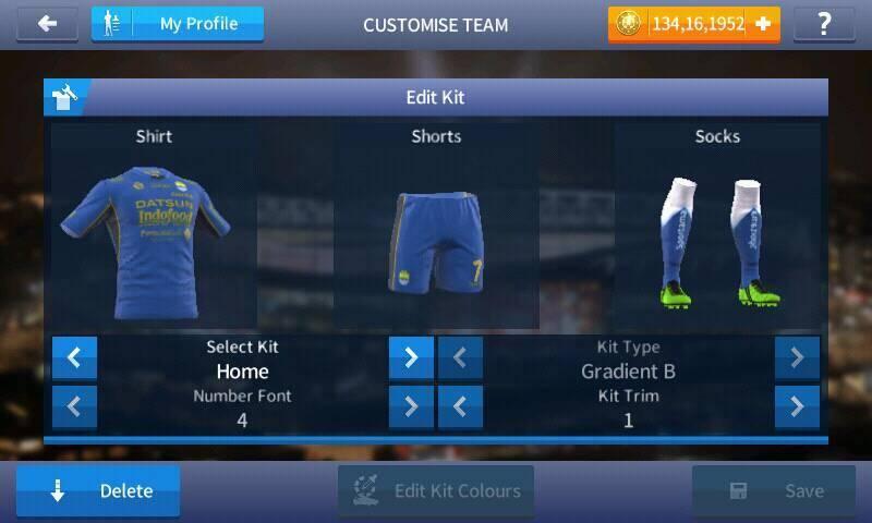 Kits Persib Bandung 2017 DLS 17 Android