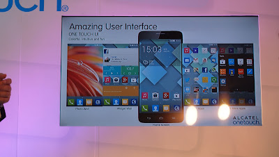 alcatel one touch idol x UI
