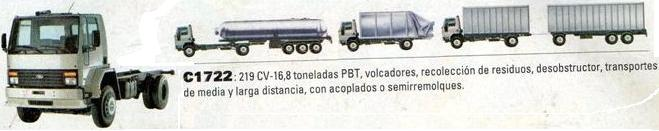 Camion Argentino Ford Cargo 1722
