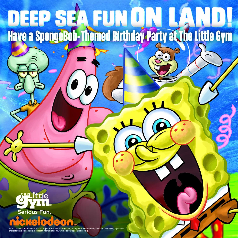 Spongebob Squarepants: NickALive!: The Little Gym Expands Partnership With
