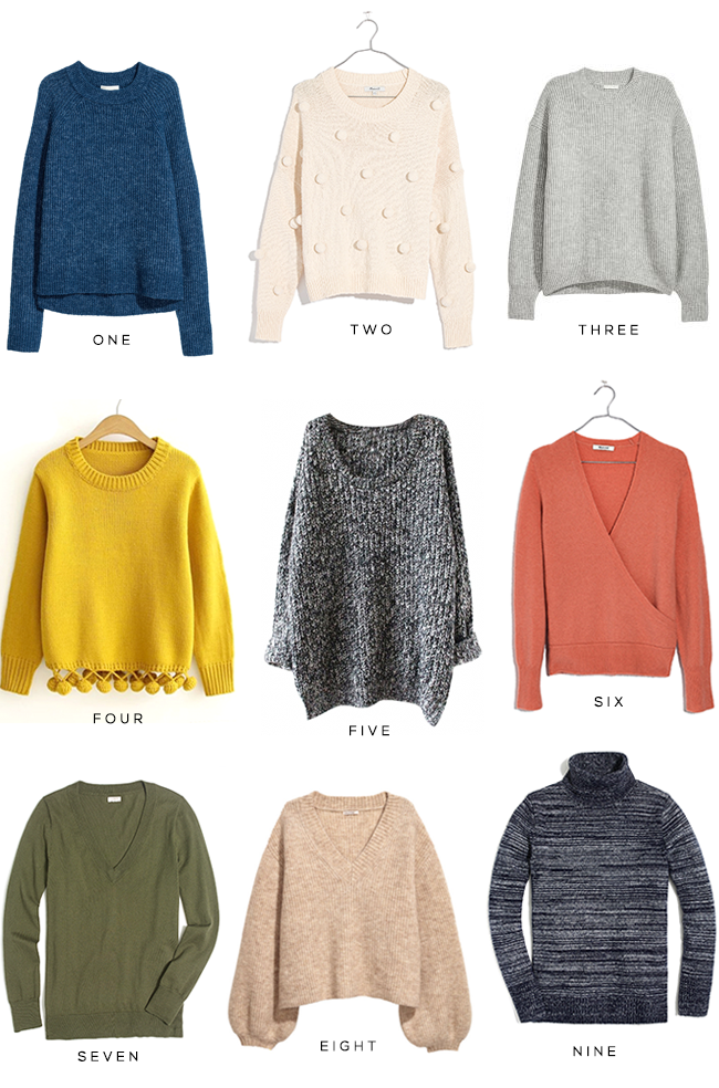 Still Sweater Weather: 9 Pullovers I Love