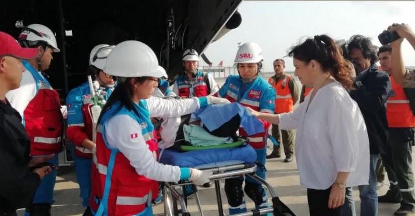 Dirección de Telesalud hará seguimiento a escolares heridos por bus que cayó al abismo en Amazonas