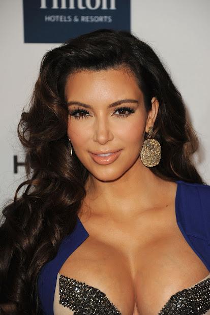 Kim Kardashian Arrives Clive Davis