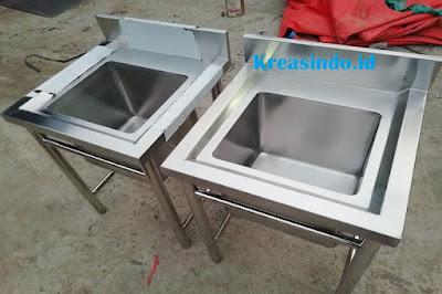 Jasa Pembuatan Sink Stainless di Jakarta dan sekitarnya