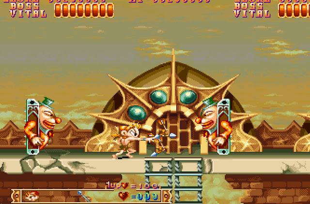 Three Wonders Stage 3 Clown Boss Screenshot