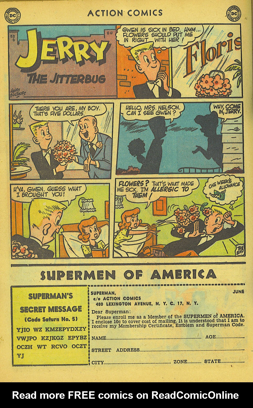 Read online Action Comics (1938) comic -  Issue #157 - 28