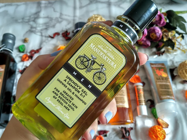 Manufaktura Men & Bicycle - sprchový gel a šampón 2v1