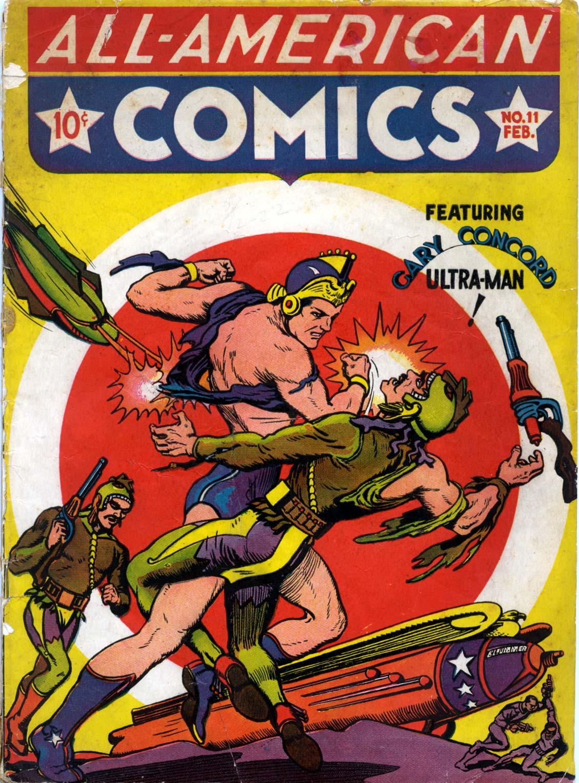 Read online All-American Comics (1939) comic -  Issue #11 - 1