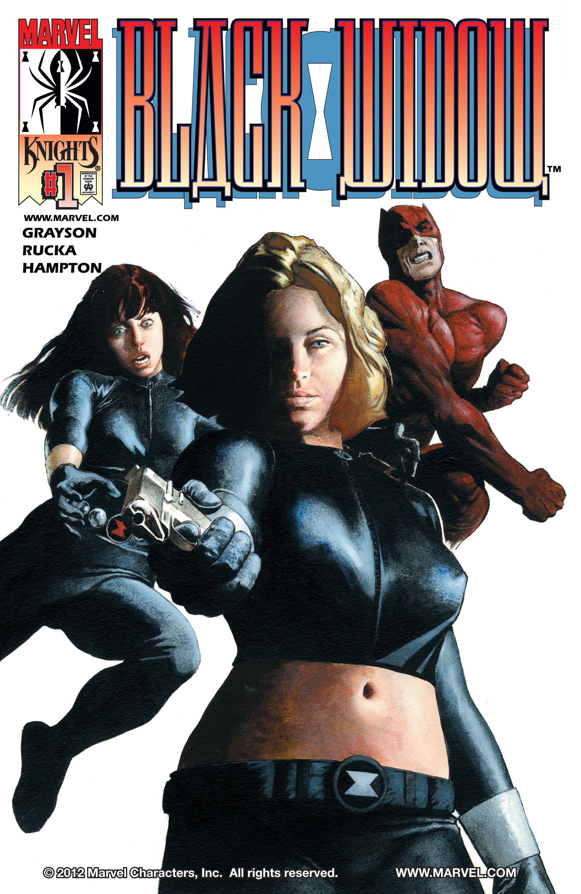 Black Widow (2001) 1 Page 1