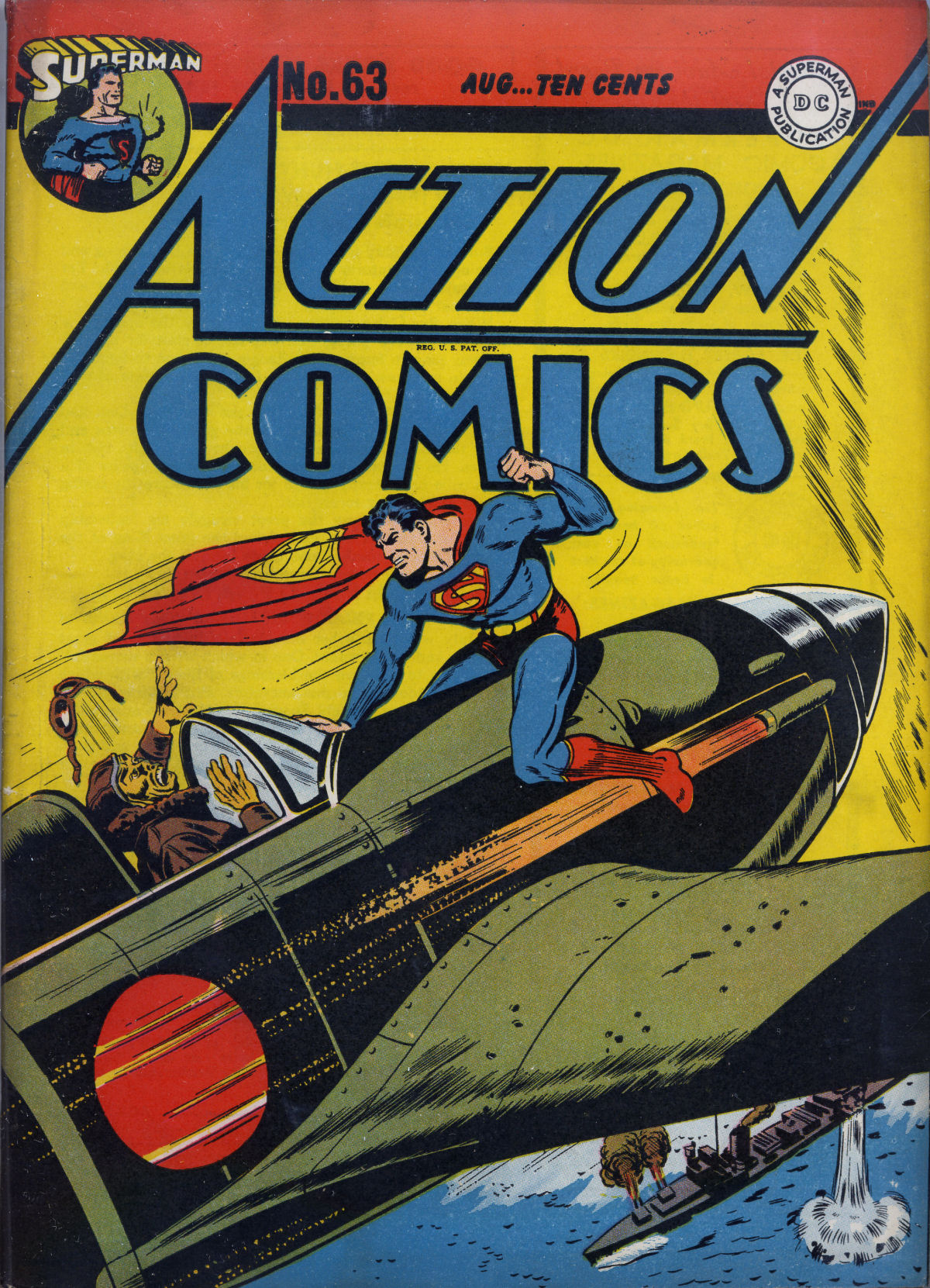 Read online Action Comics (1938) comic -  Issue #63 - 2