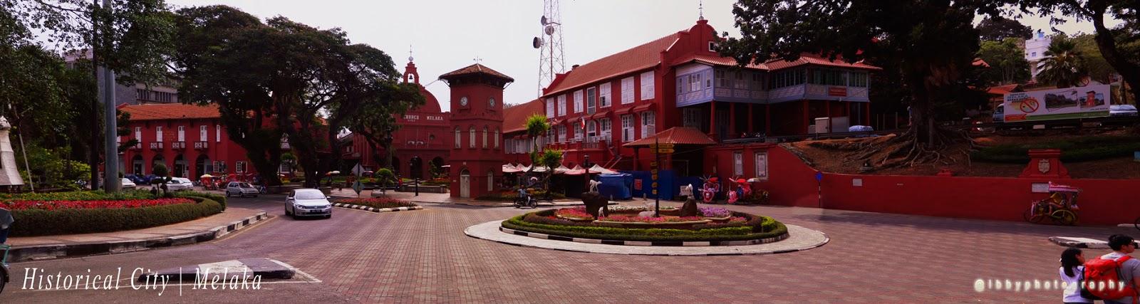 Red Buildings Melaka
