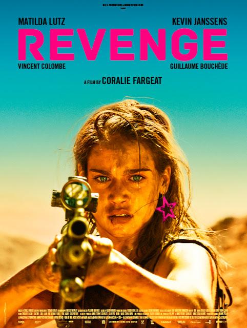 Revenge 2018 movie poster