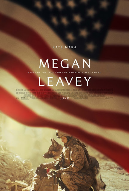 The poster for 'Megan Leavey,' about a Marine and her K-9.