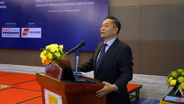 S.E Dr Pen Sam Ath, Directeur adjoint du département des Douanes et de la Régie