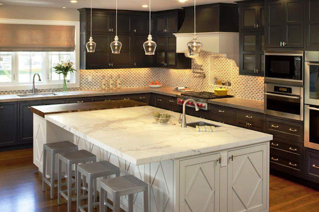 sensa majestic white granite kitchen countertop