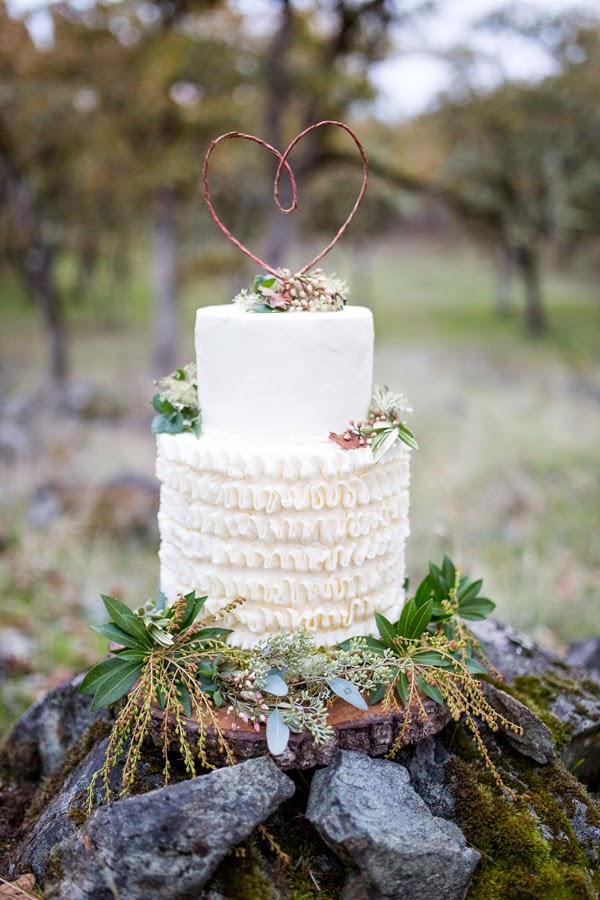 Una boda de invierno cargada de estilo