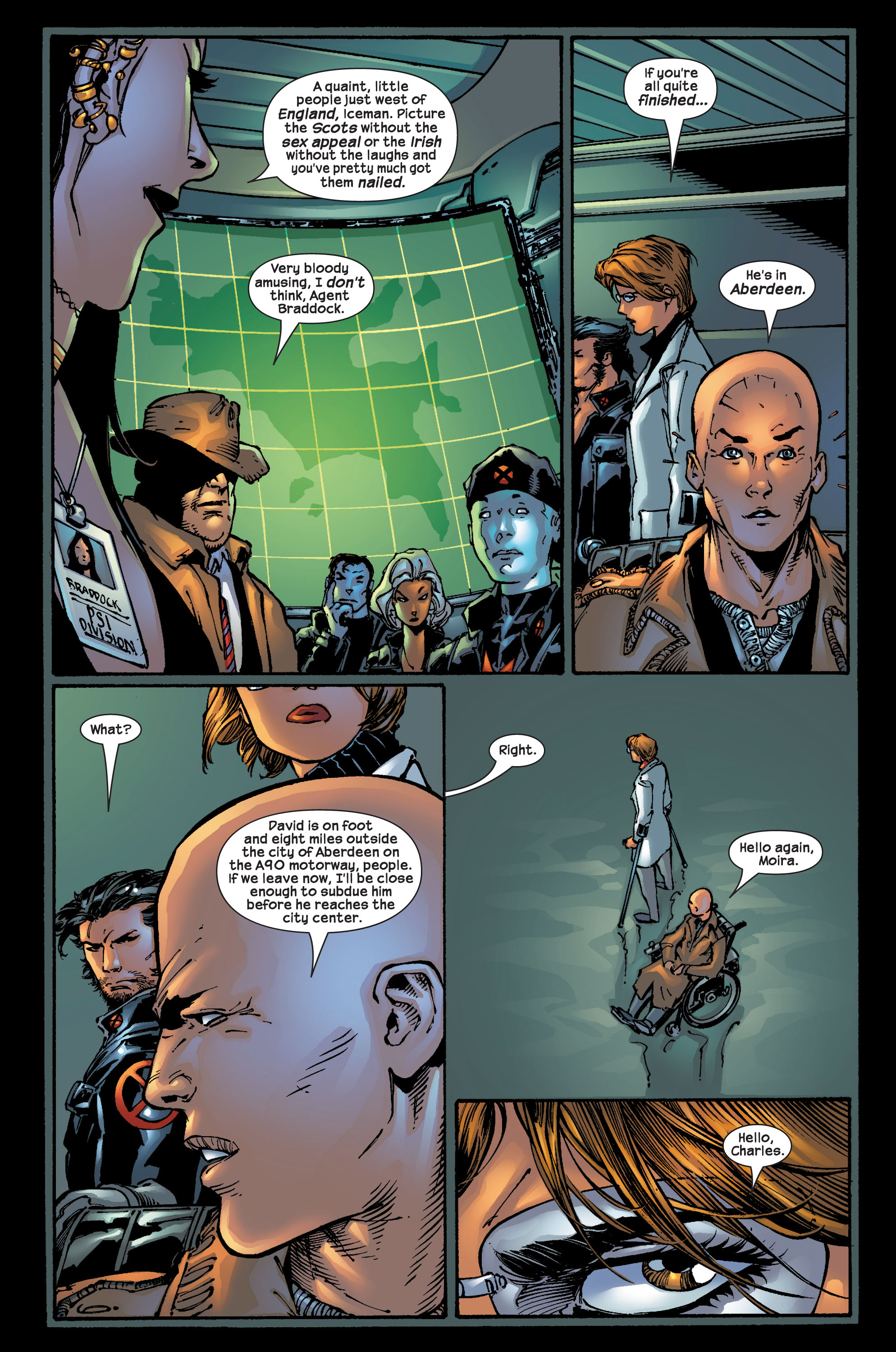 Read online Ultimate X-Men comic -  Issue #17 - 8