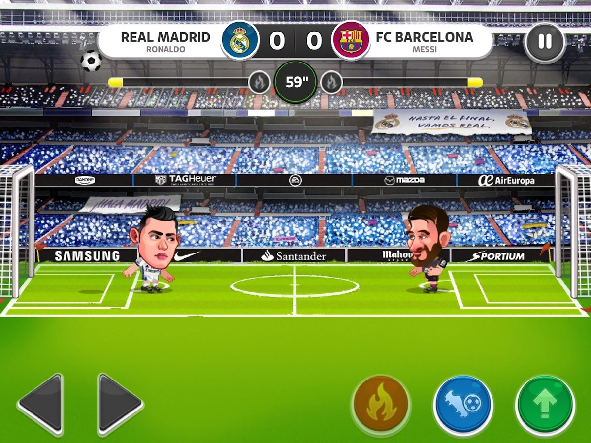Head Soccer La Liga 2018 Mod Apk V5 1 0 Unlimited Money Cash Gold Ad Free Download Game