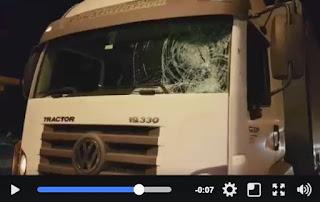PRF apreende adolescente que apedrejava veículos para roubar na Régis Bittencourt