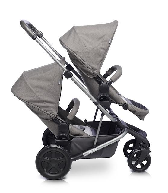 new tandem stroller 2017 Easywalker Harvey