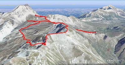 Campo Pericoli (Gran Corno) hike route