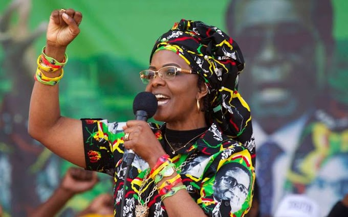 Grace Mugabe accused of beating housekeeper with shoe until blood 'gushed' from her face