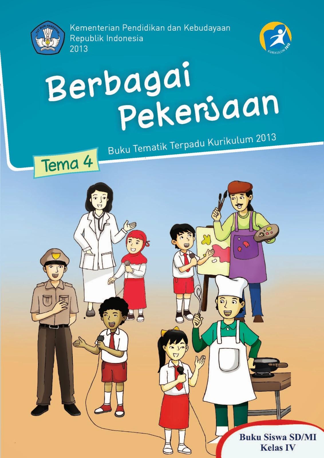 Download BSE Buku Pelajaran Tematik Kelas 4 SD Kurikulum ...