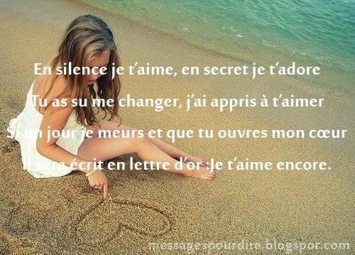 ... , déclaration d amour pour elle , petit message d amour pour