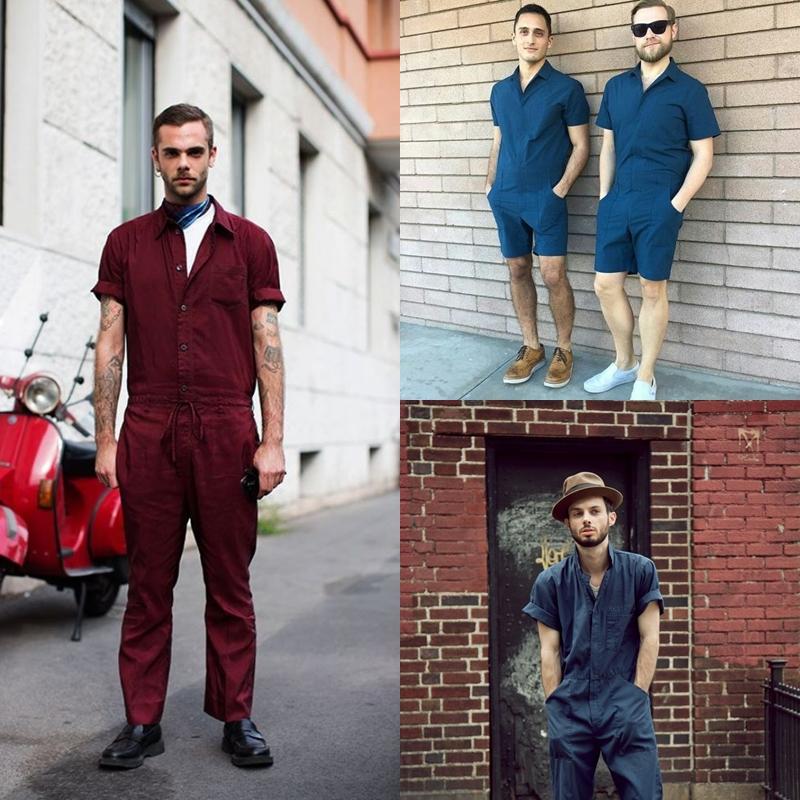 Macacão | Inspiração do modelo worker na moda masculina