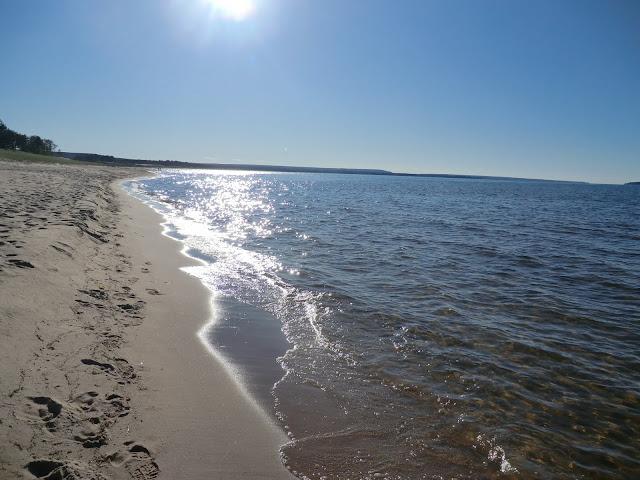 shores of Lake Michigan