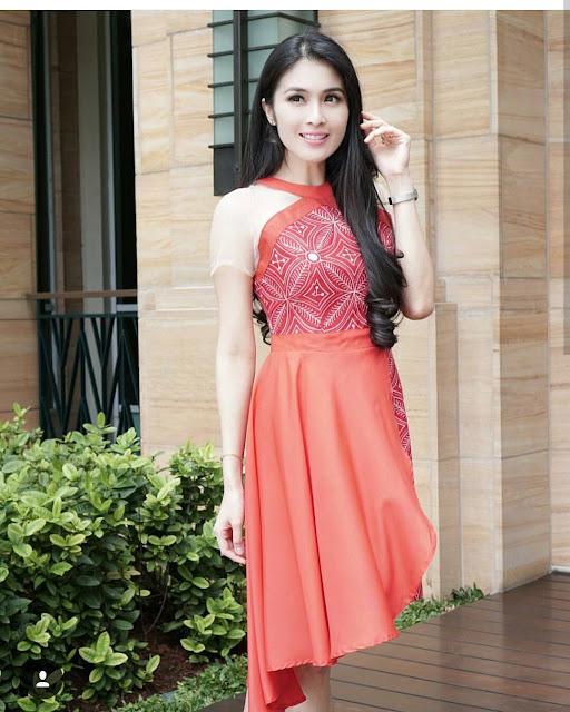 Dress Batik Untuk Ke Pesta Pernikahan