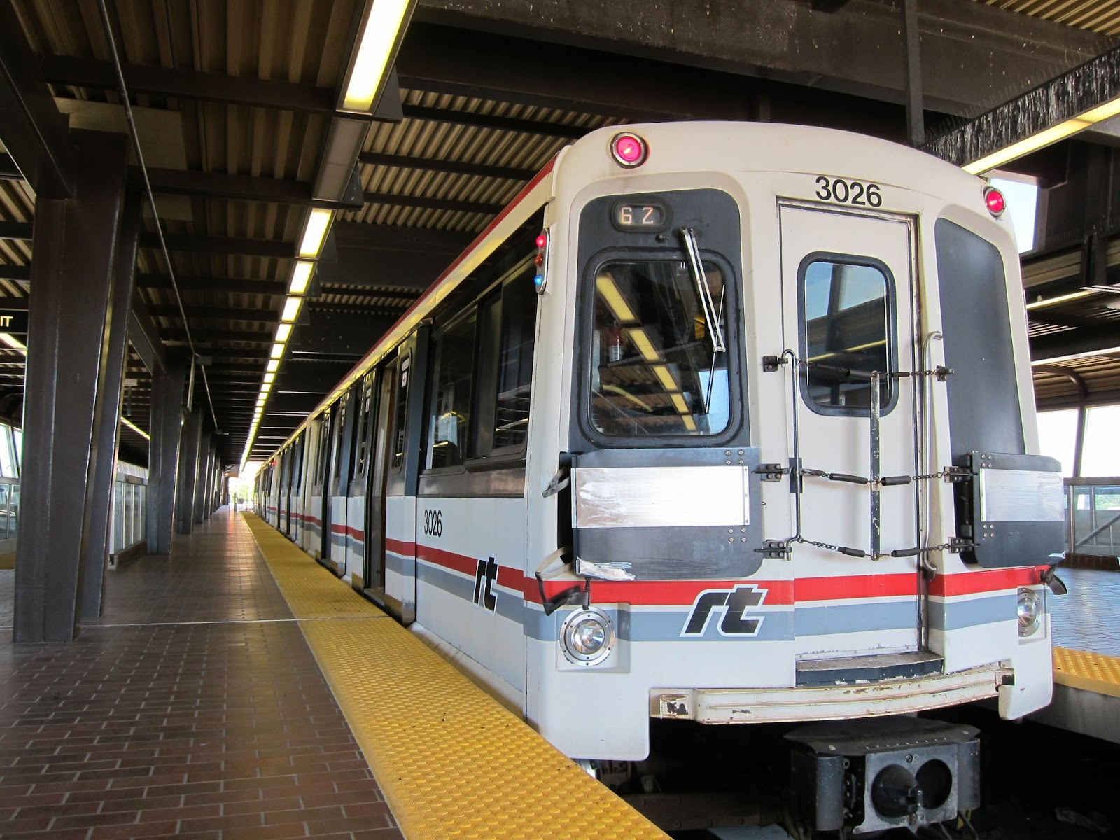 Scarborough RT train at Kennedy station