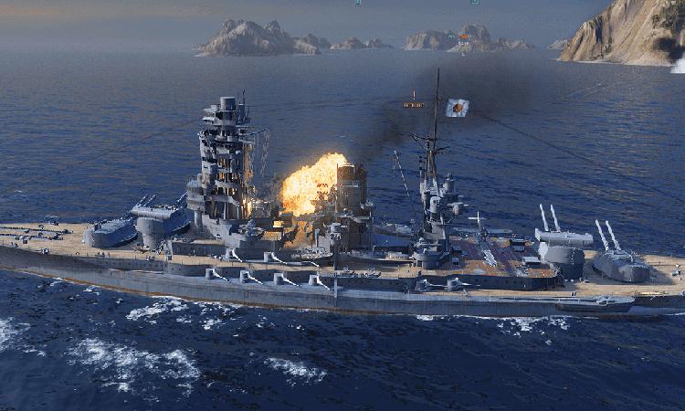 تحميل لعبة السفن الحربية الاستراتيجية world of warships للكمبيوتر
