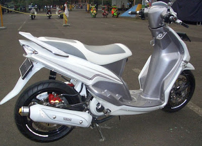 contoh modifikasi cat mio sporty