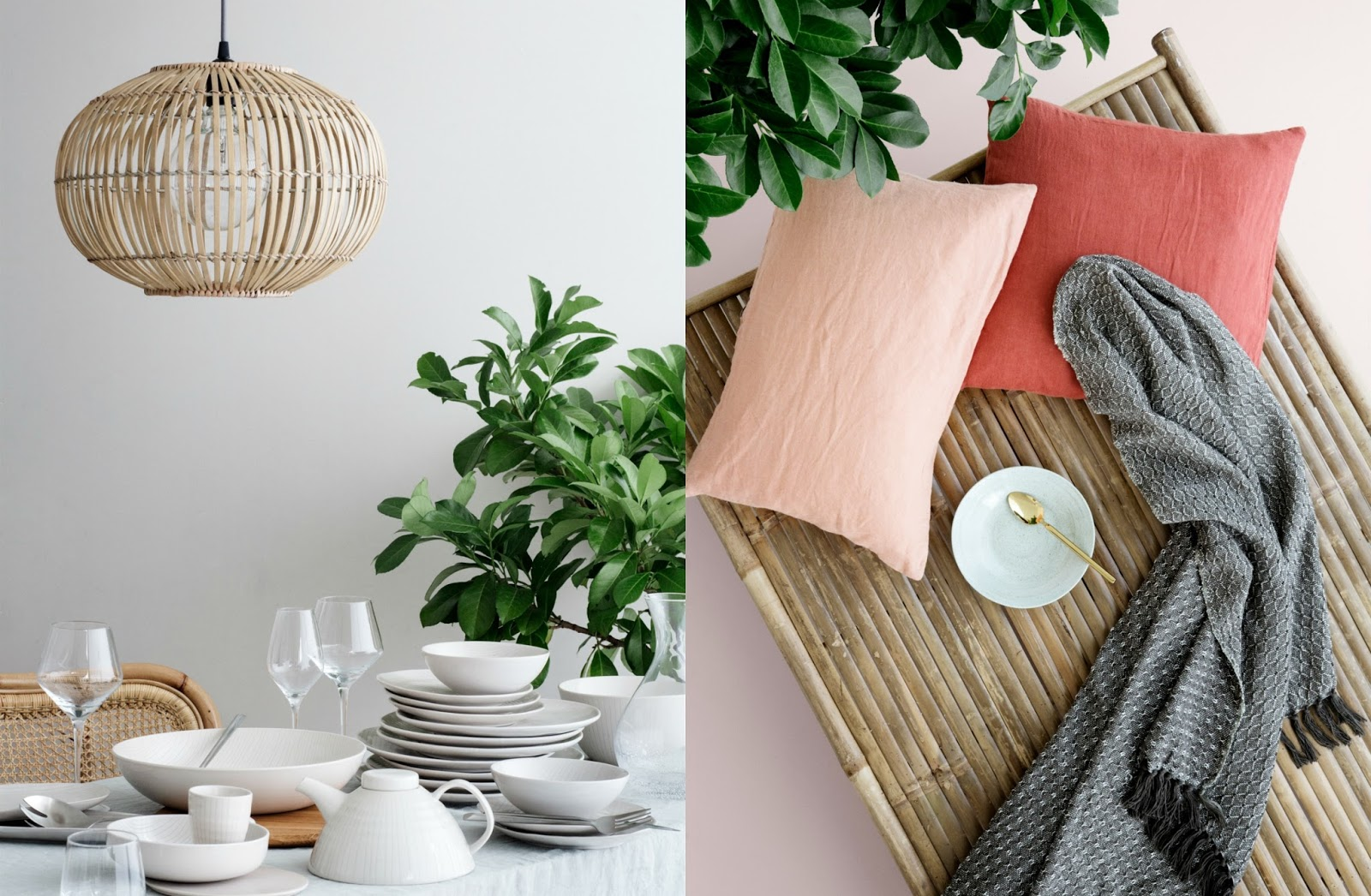 Rattan in Home Decor | Cleo-inspire