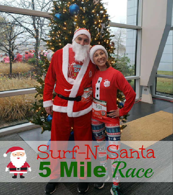 Surf n santa Christmas race