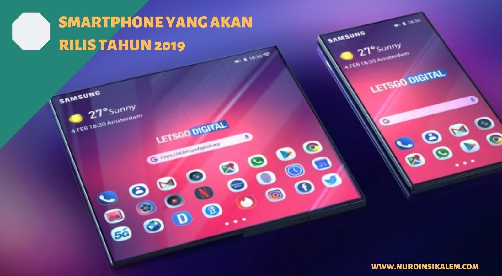Smartphone terbaik tahun 2019