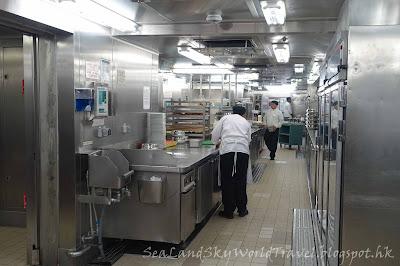 阿拉斯加, 郵輪,, Celebrity Inifinity Galley Tour 參觀廚房