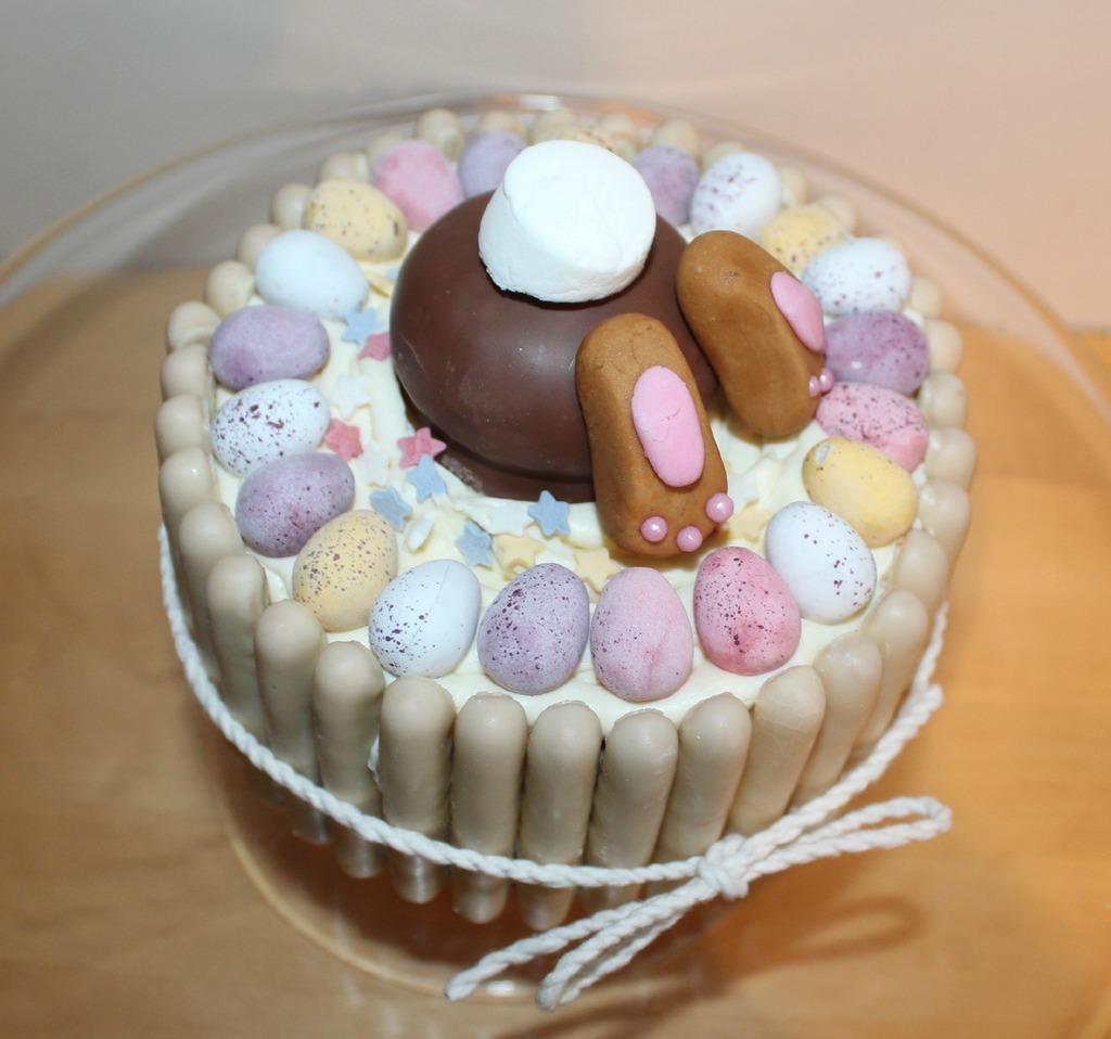 Bunny Butt Cake Pops For Easter
