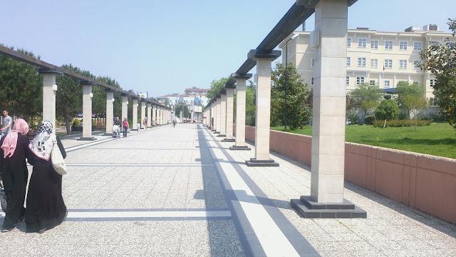 bursa yıldırım belediyesi yürüme halk alanı