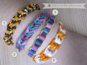 Cómo hacer pulseras de gomitas Rainbow Loom