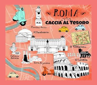 """Caccia al tesoro """"Quanto sei bella Roma a prima sera..."""" (2° percorso) - Divertente competizione a squadre alla scoperta dei rioni di Roma"""