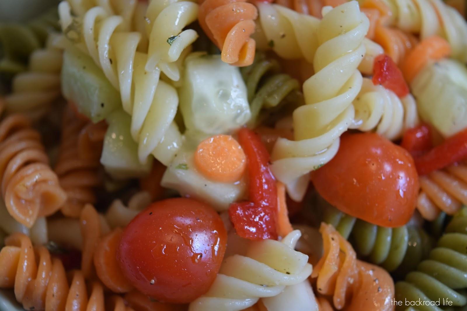 The Backroad Life: Garden Pasta Salad