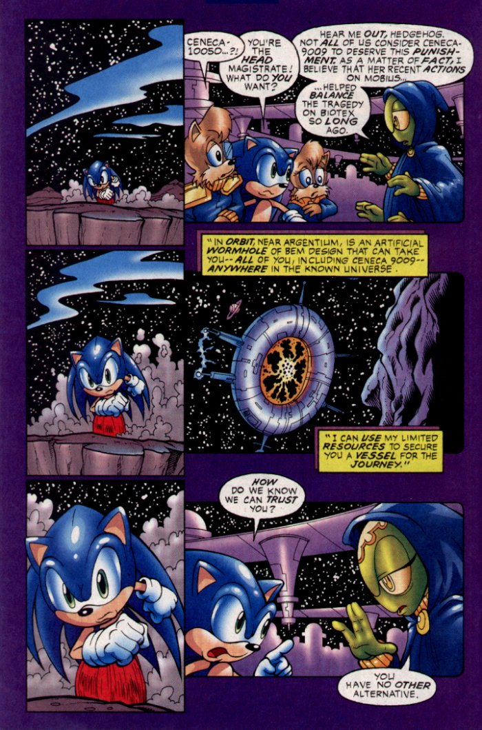 Read online Sonic The Hedgehog comic -  Issue #129 - 20
