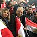 بوسي شلبي ترد علي اتهام الجماهير للفنانين بالتسبب في خسارة المنتخب المصري