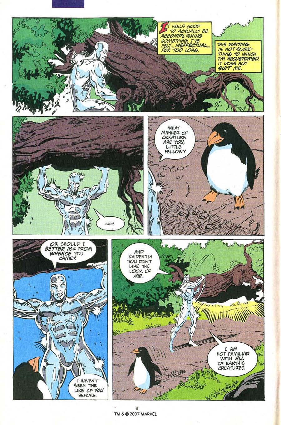 Read online Silver Surfer (1987) comic -  Issue #54 - 10
